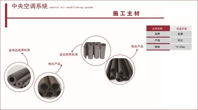 空调施工主材保温护套